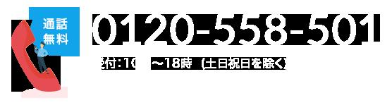 0120-558-501